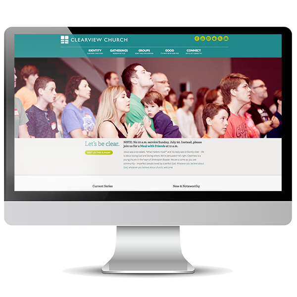 Clearview Church Shreveport new website