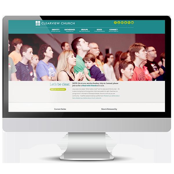 Clearview Church Shreveport new website