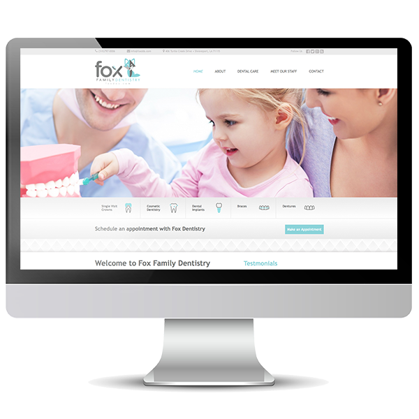 Fox Family Dentistry New Website