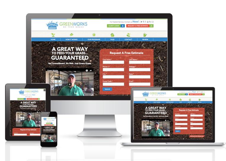 We Feed Grass Adaptive Website